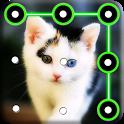 Kitty Cat Pattern Lock Screen icon