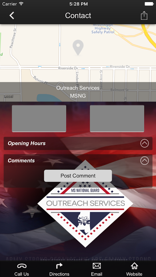 MSNG Outreach Services- screenshot