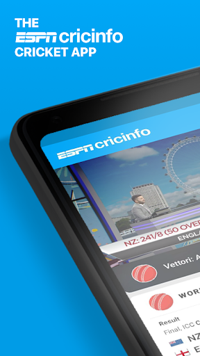 ESPNCricinfo - Live Cricket Scores, News & Videos 6.15.0 screenshots 1