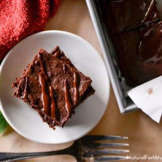 Fudgy Dark Chocolate Peppermint Brownies