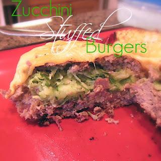 Zucchini Stuffed Grilled Burgers