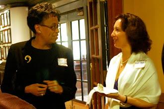 Photo: Rosemarie Wesson Williams (AYPO board member) and Patti Reid (AYPO board member & Gala Co-Chair)