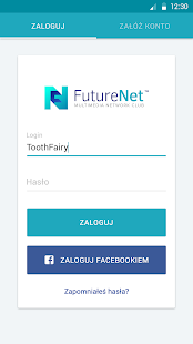 FutureNet your social app- screenshot thumbnail