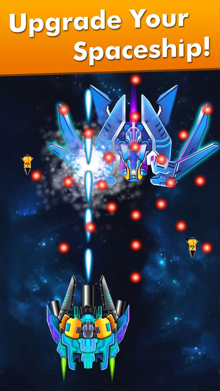 Galaxy Attack: Alien Shooter (MOD, Unlimited Money, crystals) 3
