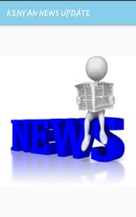KENYAN NEWS UPDATE - náhled