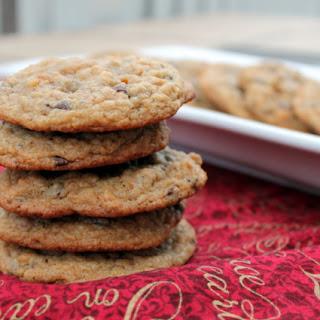 Graham Cracker Chocolate Chip Cookies.