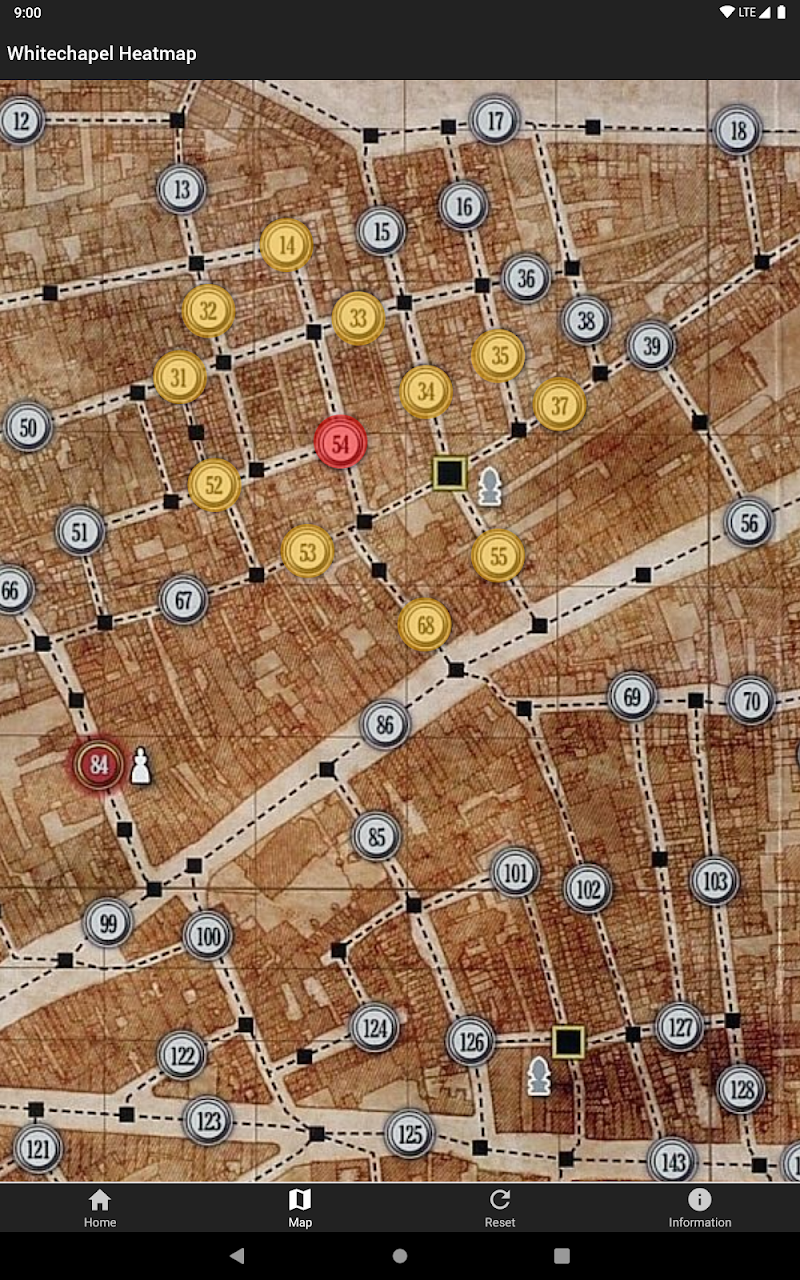 Whitechapel Heatmap Screenshot 5