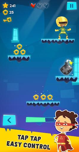The Jumpers - Super Adventure Game  captures d'écran 2
