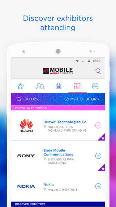 My MWC Event App Official GSMA- screenshot