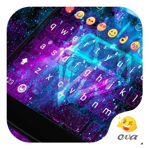 Galaxy Flash Emoji Keyboard 遊戲 App LOGO-硬是要APP