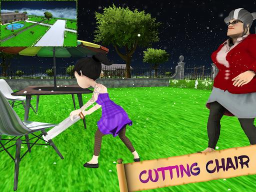 Scary Evil Teacher Game Creepy Spooky Game apktram screenshots 9