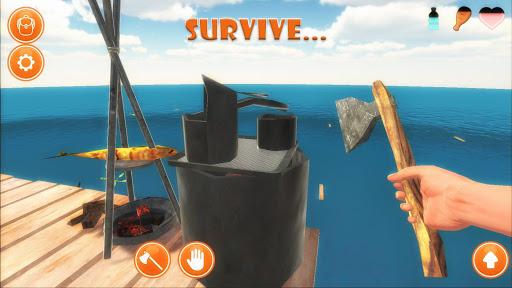 Raft Survival Simulator 1.0.05 screenshots 5