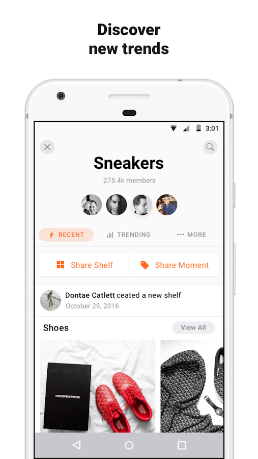 Snupps: Collect Organize Share- screenshot