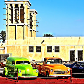 Pimp my Ride by Lealiza Seiler - Transportation Automobiles ( cars, colors, arabic house )