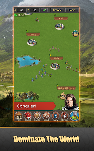 Lords of Kingdoms - medieval imperia mobile online 1.5.2 screenshots 7
