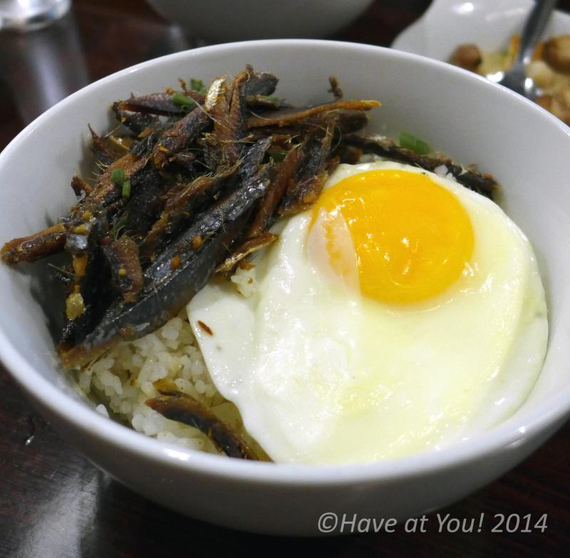 Tuyo Rice bowl