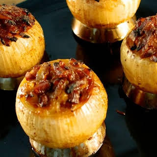 Barbecued Onions.