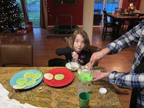 Photo: Making cookies for Christmas, 2013