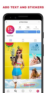 Grid Post – Photo Grid Maker for Instagram Profile v1.0.3 (SAP) (Pro) 2