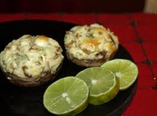 Artichoke-topped Portobello Mushrooms Recipe
