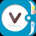 비즈타임PRO-무료문자,고객관리/인맥관리/영업관리 어플 icon