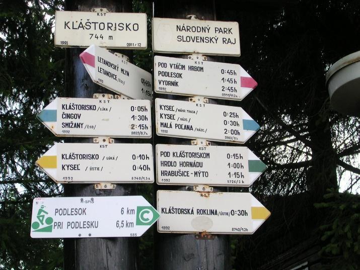 Turistická značka – Wikipédia