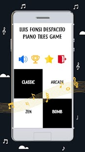 Luis Fonsi Despacito Piano Tiles Game - náhled