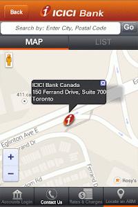 ICICI Bank Mobile- Canada screenshot 2