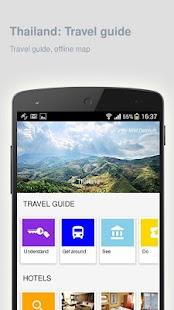 Thailand: Offline travel guide - náhled