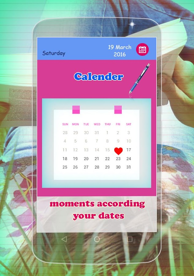 Secret Diary with lock- screenshot