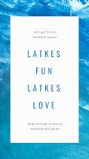 Latkes Fun - Hanukkah item
