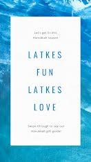 Latkes Fun - Facebook Story item