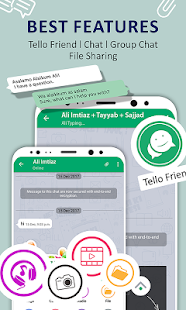 Tello Talk Free Chat Messenger - náhled