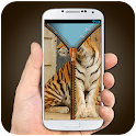 Тигр молнии Блокировка экрана