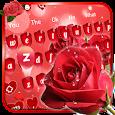 Red Rose Keyboard Theme