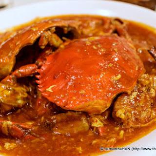 Easy Peasy Singapore Chilli Crab.