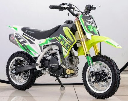 50cc CF Kids 4 Stroke Dirt Mini Bike Green