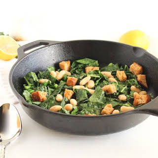 Warm Kale and White Bean Salad.