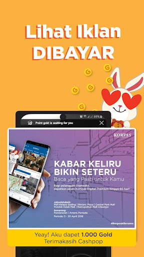 CashPop - Main Hape Dibayar!  screenshots 20