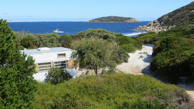 Photo: Arid Bay and its commercial fishing camp