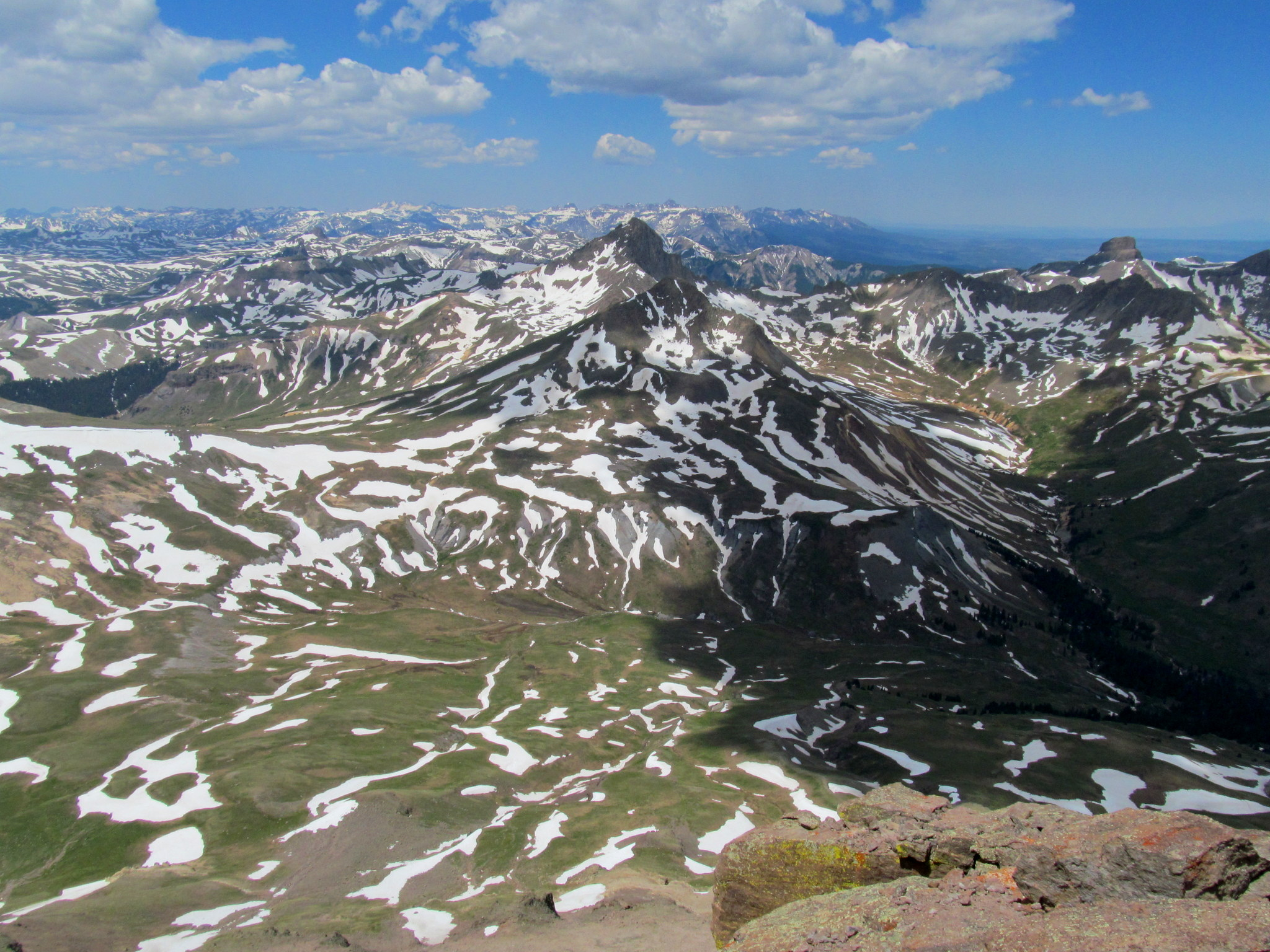 Photo: View west from the summit