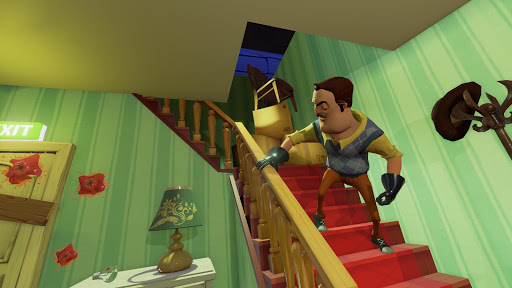 Hello Neighbor  trampa 1