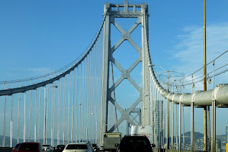Photo: We were here over Columbus Day weekend, so bridge traffic was never a problem