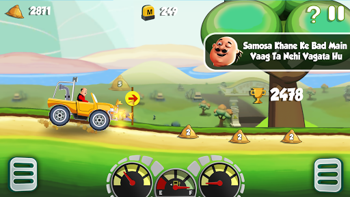 Motu Patlu King of Hill Racing  gameplay | by HackJr.Pw 16