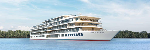 american-harmony.jpg - The 184-passenger American Harmony launched in 2019 as the 11th ship in the American Cruise Lines fleet.