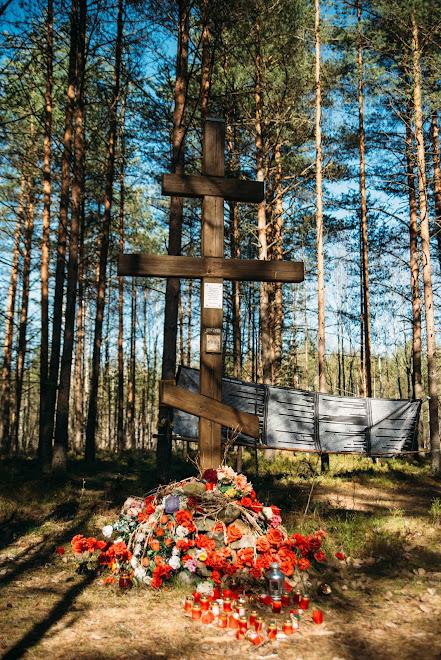 Крест на ржевском полигоне