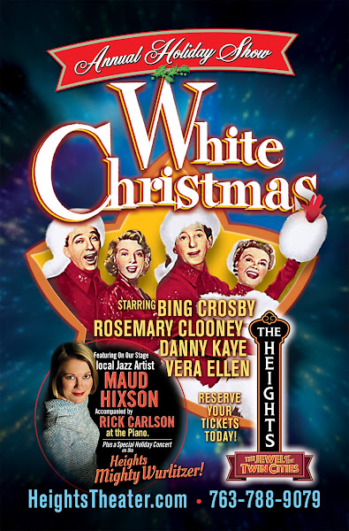 White Christmas In Theaters.Heights Theater White Christmas Heights Holiday Show