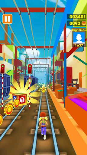 Subway Run - Train Surfing 3D 1.0 screenshots 4