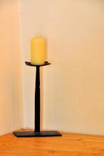 Photo: Handgeschmiedeter Kerzenständer