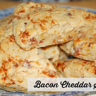 Bacon Cheddar Scones.